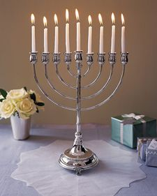 Tutorial for a menorah antimacassar.