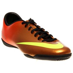 Nike Men's Mercurial Victory IV IC Indoor Soccer Shoe *** Continue to the product at the image link.