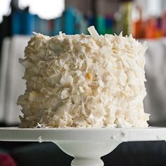 coconut cake with coconut swiss meringue buttercream-- and I guess I really just don't like buttercream frosting, in any form. I think I would have liked coconut flavored 7 minute frosting or even just whip cream frosting. Just Desserts, Delicious Desserts, Dessert Recipes, Yummy Food, Frosting Recipes, Easter Recipes, Cupcake Recipes, Dessert Ideas, Swiss Meringue Buttercream