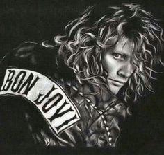 Jon Bon Jovi Great job, however drew this!!!
