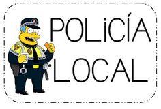 El jueves estuvimos hablando de que hay varios tipos de policía y que podíamos reconocerlos por su uniforme.   La seño Fini nos puso en la ...
