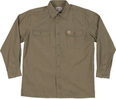 #Carhartt #Workwear :Rip Stop Work Shirt - find more on http://workstyle.pl/