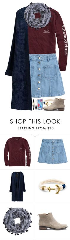 """""""I really like this set!"""" by pnw-prep ❤ liked on Polyvore featuring Vineyard Vines, H&M, J.Crew, Lucky Brand and Max Factor"""