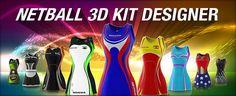 Netball 3D Kit Designer