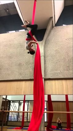 Scorpion Drop. It's a lot simpler than the others we learned, but it would look good within a routine.