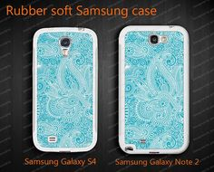 soft rubber Samsung Galaxy Note 2 cases N7100 cases by janicejing, $16.99