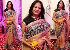 Tissue Kota Sari High Neck Blouse | Saree Blouse Patterns