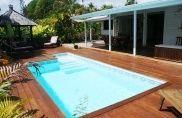 Villa de charme 3 chambres piscine privée dans la station balnéaire de Saint François à louer pour vos vacances en Guadeloupe.