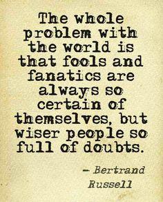 World of fools. ...