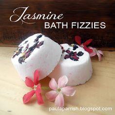 Paula Parrish: DIY Fizzie Bath Bombs