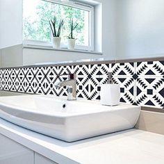Momola 1×Roll Self Adhesive Waterproof Tile Art Wall Decal Sticker DIY Kitchen Bathroom Living Room Decor Vinyl Wallpaper Home Decorative Accessories (Colorful C): Amazon.co.uk: DIY & Tools #homedecoraccessories