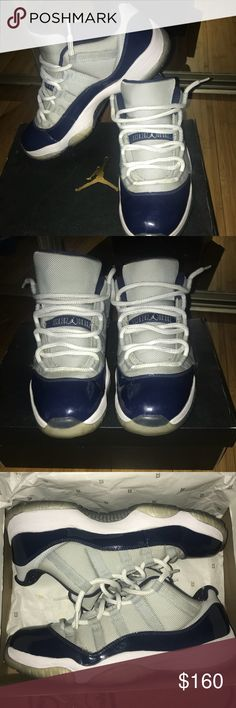 ff41df983b9b Jordan 11 s retro lows Georgetown Size 10 Comes with original box Condition  8 10 Has