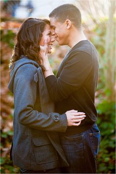 Winter Military-Couple Engagement Session by Alexandra Grace Photography