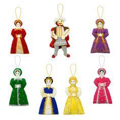 Henry VIII and wives tree decorations - I fell in love with these in the shop next to the Tower of London :) Kind of regretted I didn't buy them..
