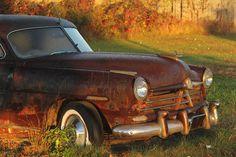 Hudson Autofotografie. Auto Foto-Wand-Dekor. Rusty Antik Fahrzeug Office Decor. Rustikale Klassiker Oldtimer Fotokunst