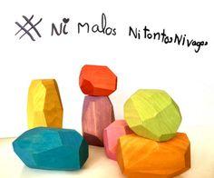 #niMalosniTontosniVagos – lorite fonta Coasters, Baddies, Coaster Set