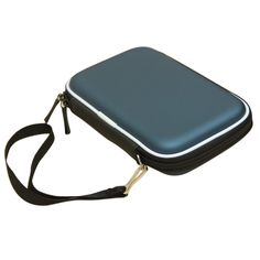 """GTFS Hot Carry Case Cover Pouch Bag for 2.5"""" USB External Hard Disk Drive Protect Blue"""