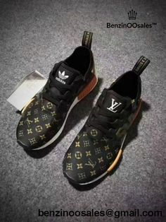 e3dc024c0496 Supreme X Lv Adidas Nmds Monogram Brown Lv Shoes