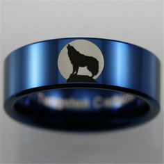 The Great Outdoors Baby Wolves, Red Wolves, My Christmas Wish List, Wolf Howling, Tungsten Carbide, Camping Accessories, Laser Engraving, The Great Outdoors, Band Rings