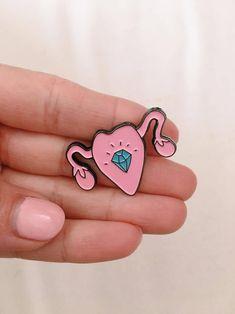 Uterus Enamel Pin (10% goes to Planned Parenthood)
