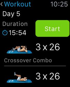 Runtastic Six Pack - 2. Six PacksApple Watch