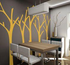 wall sticker trees autocolant decorativ pentru perete copaci www.caiverzipepereti.com
