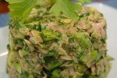 Salata de avocado cu ton - Salata de avocado cu ton se face chiar mai simplu decat clasica salata verde cu ton, asa ca merita sa o incercati