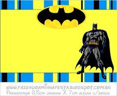 Invitaciones De Cumpleaños De Batman Para Dedicar 10  en HD Gratis