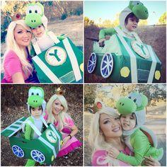 Yoshi Halloween Costume Diy.Mario Kart Halloween Costume Free Mario Kart Costumes On Bikes