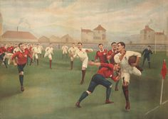 England V. Wales. January 5th 1895 At Swansea by Christie's Images - art print from King & McGaw