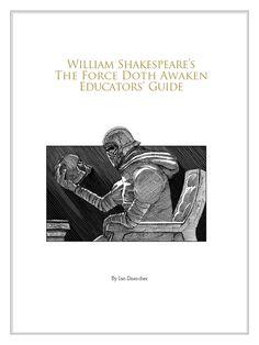 William Shakespeare's The Force Doth Awaken Educators' Guide Reading Groups, William Shakespeare, Awakening, Macrame, Nerd, Poetry, Star Wars, Parenting, Activities
