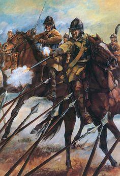 Cromwell's Ironsides at Naseby 1645
