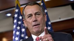 House Speaker John Boehner (R-OH) is quickly becoming a new litmus test for whether a Republican is conservative.   Outside tea party groups have begun targeting Boehner and those who vote with him in recent days.