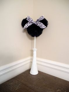 Minnie Mouse or Mickey Mouse Party Decoration / by DazzleMePink, $12.00