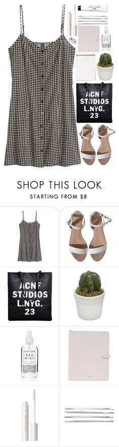 """'Cause most of our feelings, they are dead and they are gone"" by annaclaraalvez ❤ liked on Polyvore featuring H&M, Jil Sander, tarte, Cara and Bobbi Brown Cosmetics"