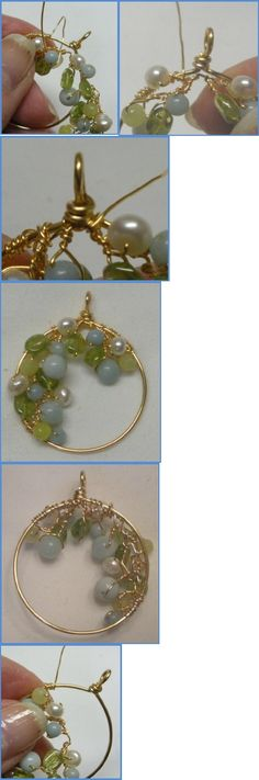 Spring Garland Wire Wrapped Earrings Tutorial | Scribd