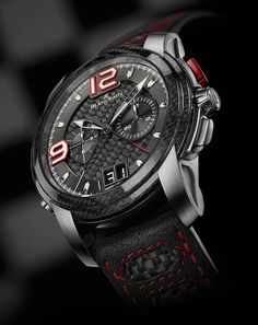 La Cote des Montres : La montre Blancpain L-evolution-R Chronographe Flyback à Rattrapante Grande Date et deuxième victoire de Bentley dans un thriller à la française