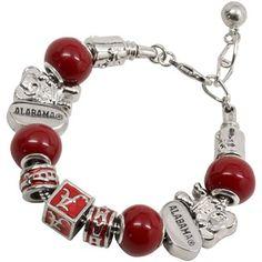 Alabama Crimson Tide Ladies Bev Bracelet