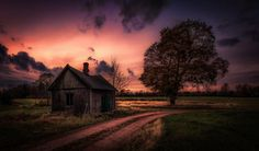 Sunset over the loneliness by Göran Ebenhart on 500px