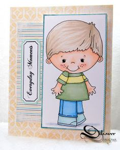 Send A Smile 4 Kids Challenge Blog: TEAM S.A.S. Card by Lucianna