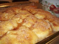 Apple Cobbler Recipe - Food.com - 42231 This is the best and easiest recipe. Loved it! Sprinkled cinnamon, sugar & nuts on top before baking.