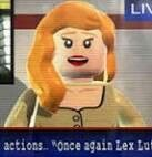 Lego Batman Vicki Vale--I voice this character in Lego Batman