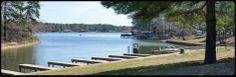 Boat parking at Tall Tree Marina on Lake Cypress Springs. 24 Hour Pay at the pump gas.