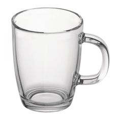 Bodum Bistro Coffee Mug Tempered Gl Microwave Safe Measurement Holds 12 Oz