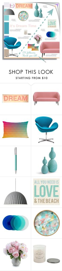 """it's a dream come true"" by namastebharat ❤ liked on Polyvore featuring interior, interiors, interior design, home, home decor, interior decorating, Seed Design, CB2, One Bella Casa and Zuo"