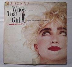 Madonna Who´s That Girl Lp Wea Hecho en Venezuela