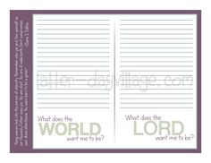 """LDS YW SEPT LESSON HELPS for """"How can I be in the world but not of the world?"""" Come, Follow Me September: Commandments"""