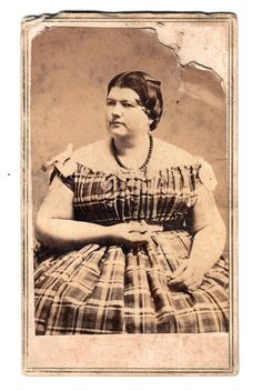 """tuesday-johnson:    ca. 1860, [Barnum's circus """"fat lady"""" Phebe Dunn at 17 years old, 407lbs]  -Throughout history, there have been fat people."""