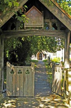 All Saints Church Gate, Didcot, Oxfordshire.