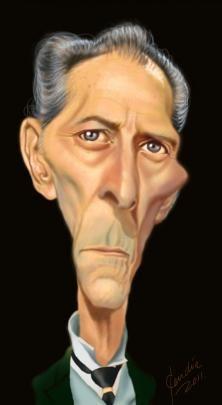 Peter Cushing (Caricature) http://dunway.us